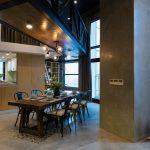طراحی خانه دوبلکس-غذا خوری-2