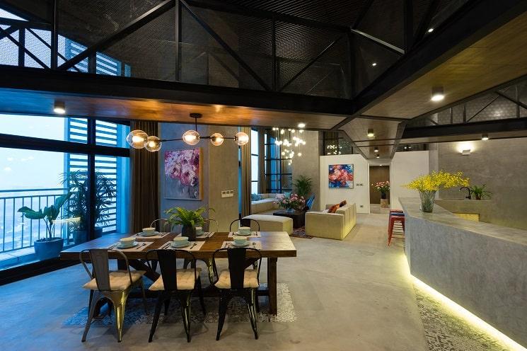 طراحی خانه دوبلکس-غذا خوری-3