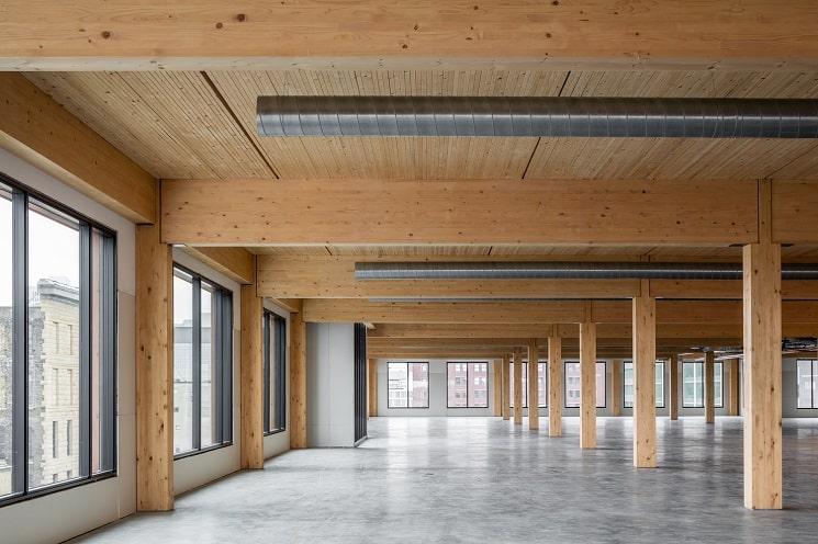 7 مزیت استفاده از چوب در طراحی تجاری و صنعتی