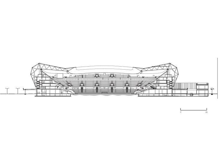 پلان استادیوم ویلموت آلیانز ریوریا 1