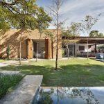 طراحی خانه به متراژ1100 در برزیل