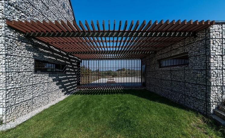 دیوارهای توری گابیون-16