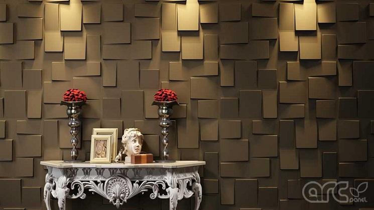 پانل دیواری سه بعدی تزئینی
