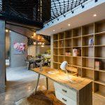 طراحی خانه دوبلکس-کتاب خانه
