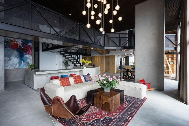 طراحی خانه دوبلکس-نشیمن-2