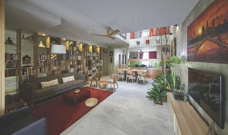 بازسازی تراس خانه 4