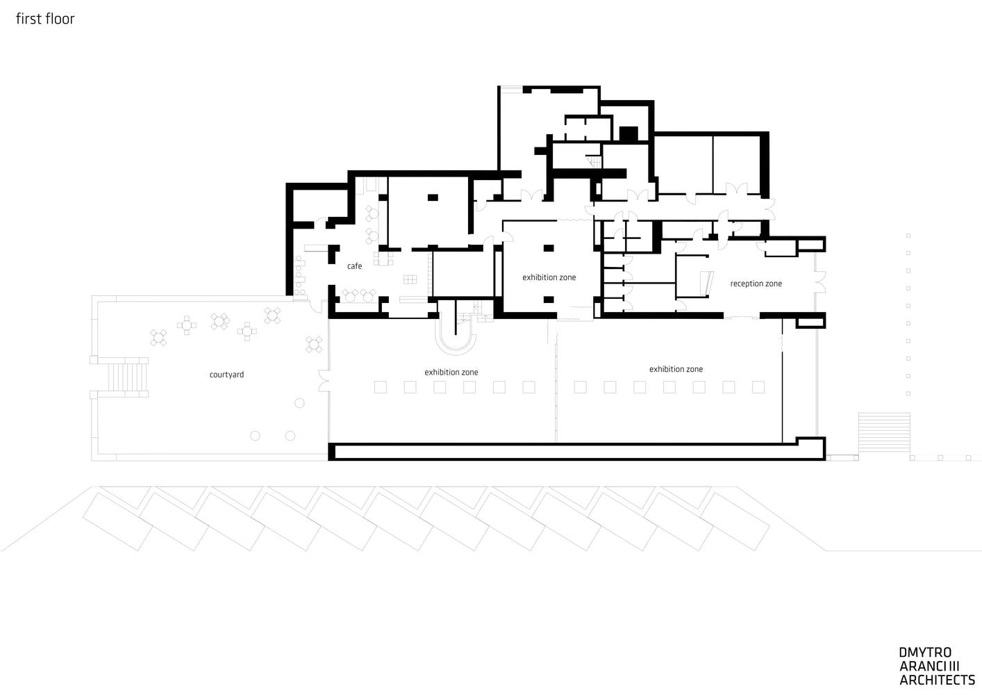 پلان مرکز هنرهای معاصر M17-1