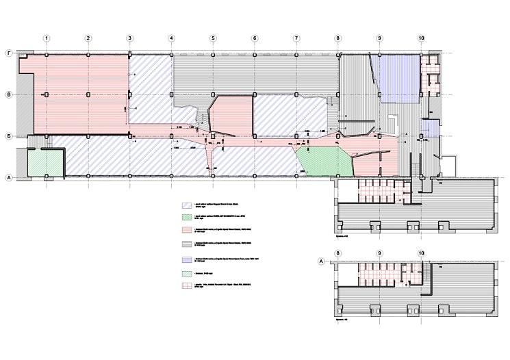 طراحی پلان باشگاه بدنسازی ثنا2