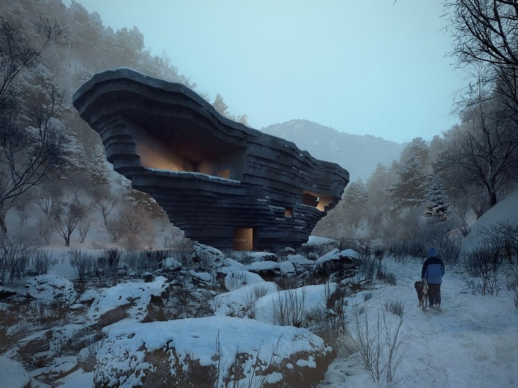 افتتاح سالن موسیقی ریتمیک معماری OPEN-3