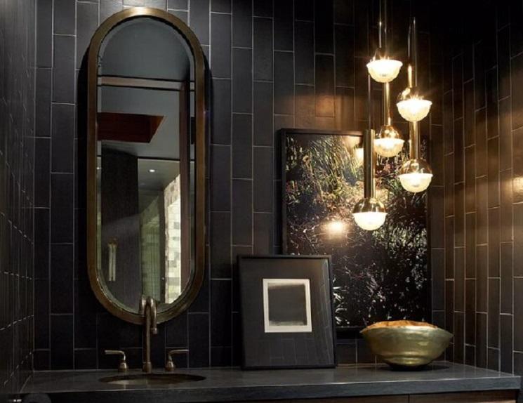 رنگ های سیاه و خنثی و لوازم جانبی طلایی