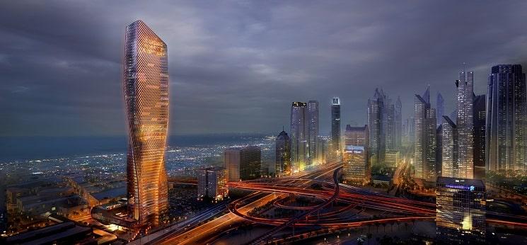 برج Wasl در دبی-1