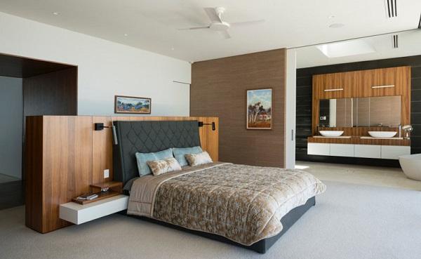 مدرن اتاق خواب-11
