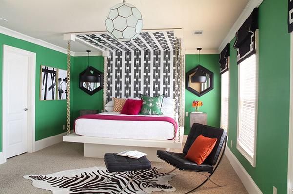 ایده های طراحی اتاق خواب-16