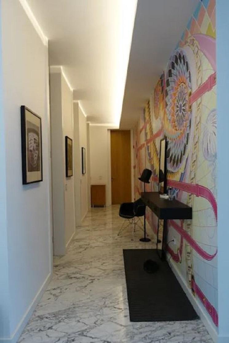 پوشش های دیواری رنگارنگ