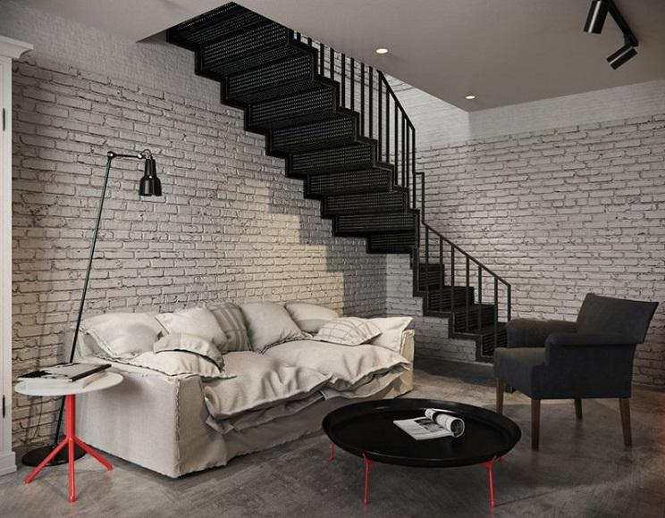 دیوارهای آجر سفید-4