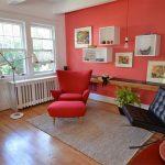 صندلی قرمز-4