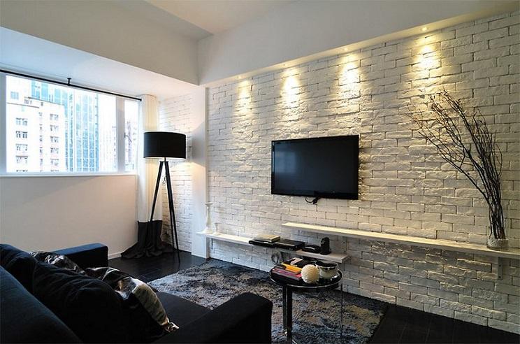 دیوارهای آجر سفید-8