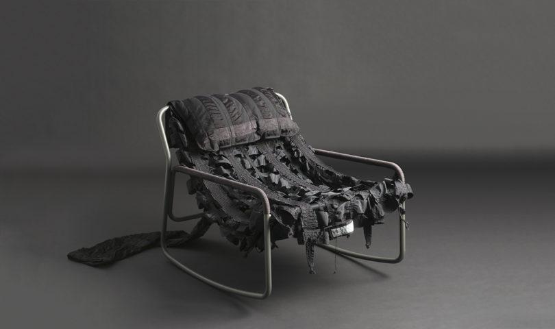 طراحی صندلی ها با استفاده از مواد بازیافتی چتر نجات-9