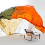 طراحی صندلی ها با استفاده از مواد بازیافتی چتر نجات-14