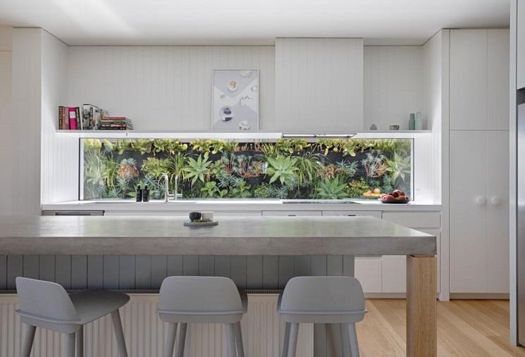 استفاده از فضای سبز در آشپزخانه-3