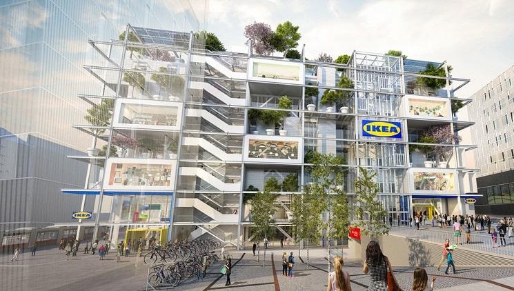 فروشگاه جدید IKEAدر اتریش