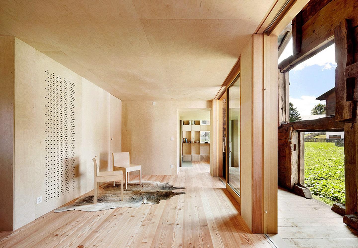 ساخت خانه چوبی-5