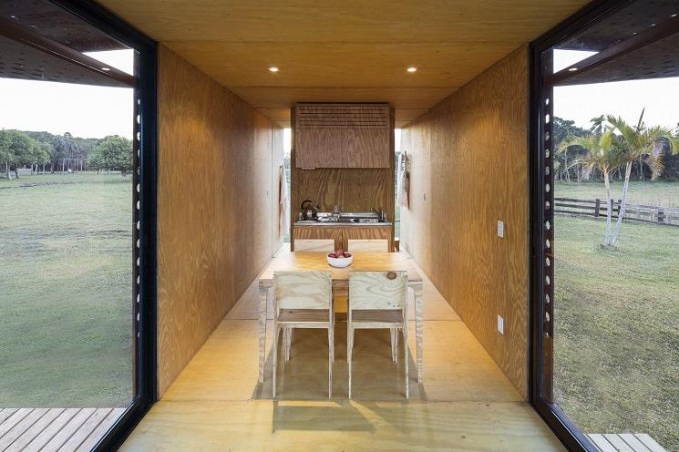ساخت خانه چوبی-7