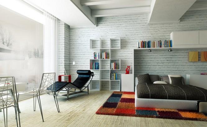 اتاق خواب های مدرن و رنگارنگ