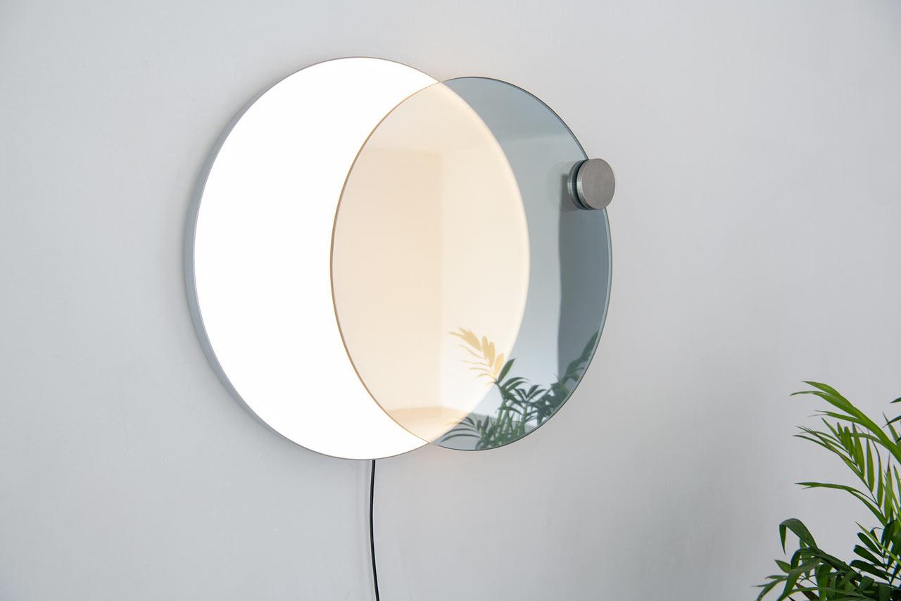 لامپ آینه ای دیواری