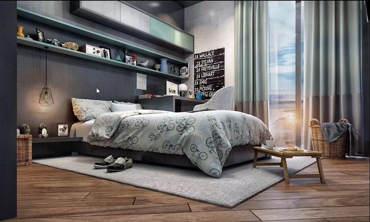 یک اتاق جوان شیک
