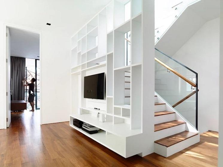 کابینت اطراف تلویزیون