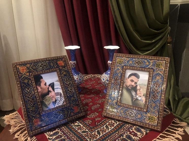 دکور خانه فاطمه و محمد 110 متر از ساری
