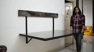 طراحی میز ناهارخوری دیواری