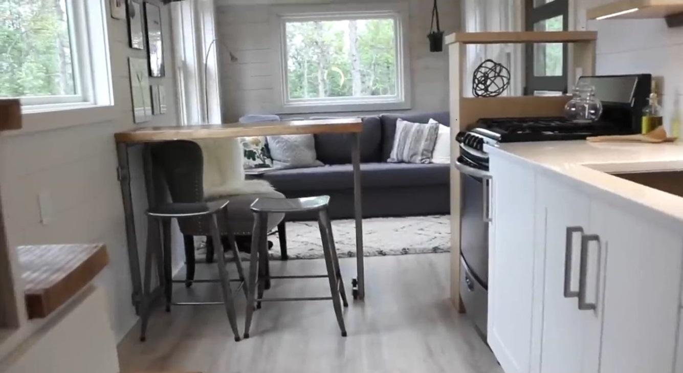 طراحی فضای داخلی ساختمان های کوچک