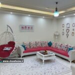 نشیمن_دکوراسیون خانه زیبا و روشن، سارا 450 متر از کرمان