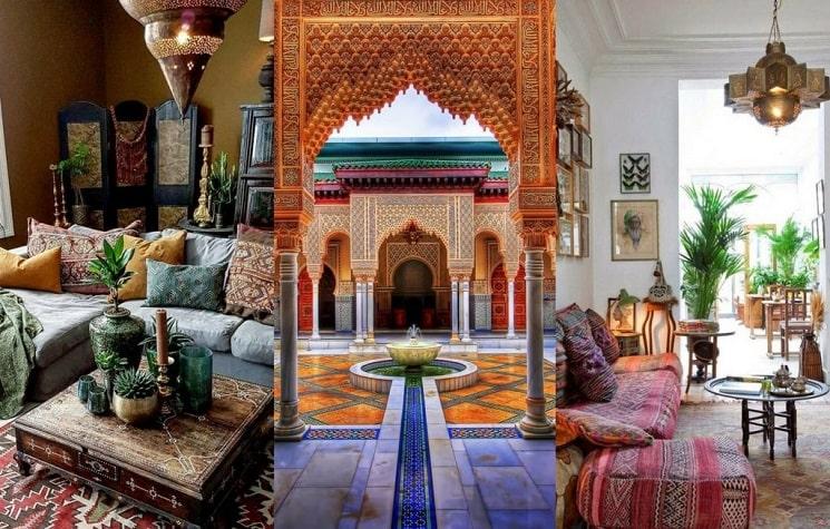 نکاتی درباره طراحان برای تزئین به سبک مراکشی