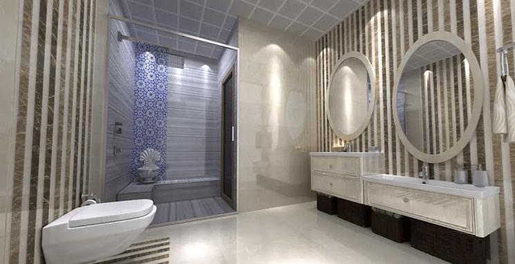 نکات و مزیت های انتخاب دوش بدون وان برای خانه های با حمام کوچک