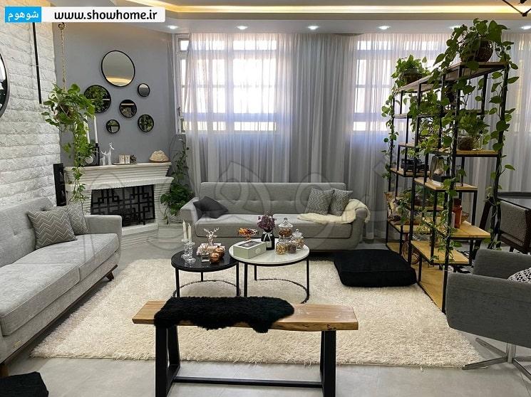 دکوراسیون خونه تهمینه و سلمان 180 متر از شیراز_3