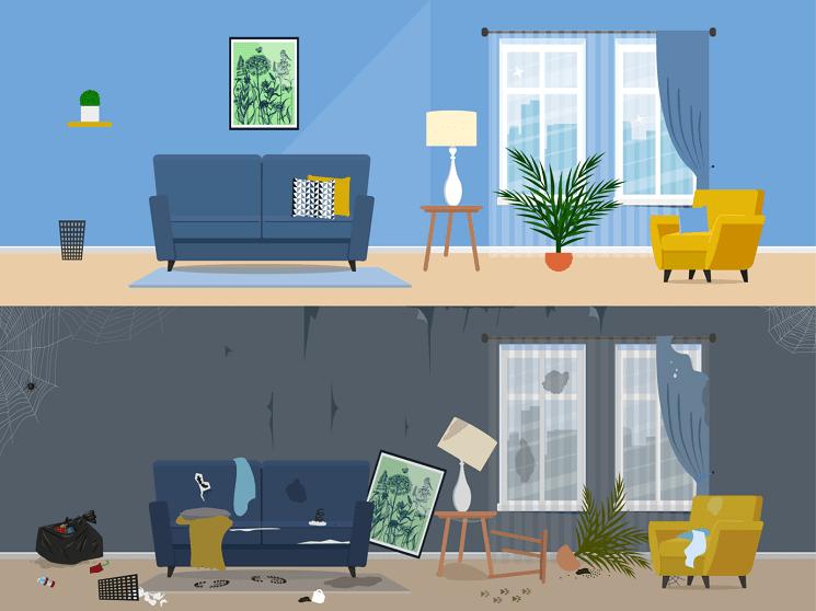 قوانین فنگ شویی برای هر اتاق در خانه شما